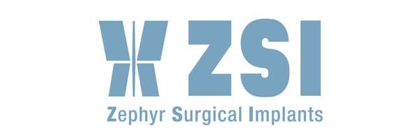 Symposium Trans*2021, Sponsorenlogo ZSI Zephyr Surgical Implants
